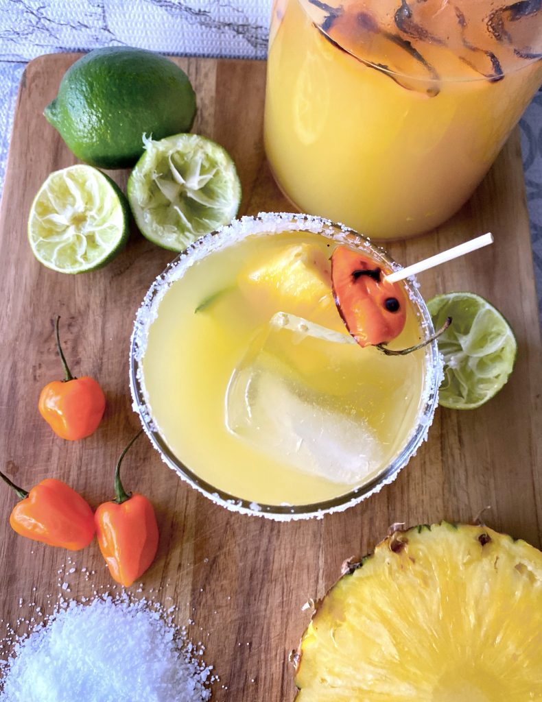 habanero pineapple margarita